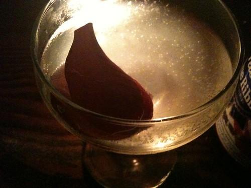 Rose Parade @1886Bar: cucumber rose Hendricks gin and soda water #Plymouthgin #bloggerbarhop   by Caroline Pardilla
