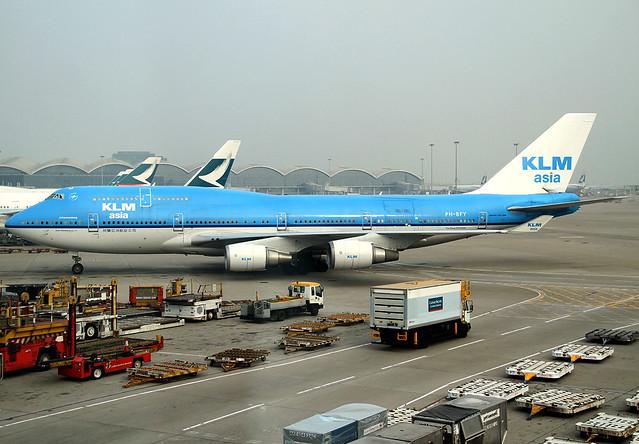B747-406/M | KLM Asia | PH-BFY | HKG