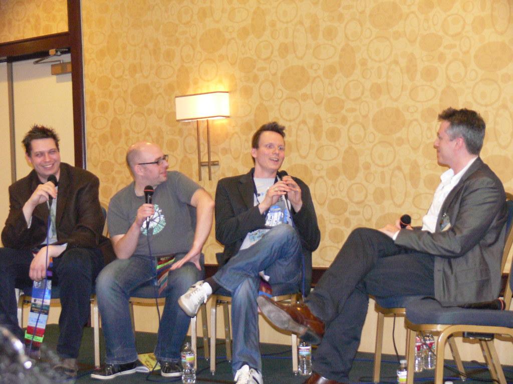 The Radio Free Skaro Team And Josh Agnew Taken On 18th Feb Flickr