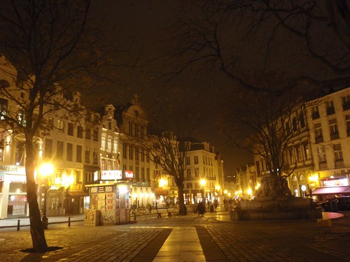 Brussels at Night | by reinholdbehringer