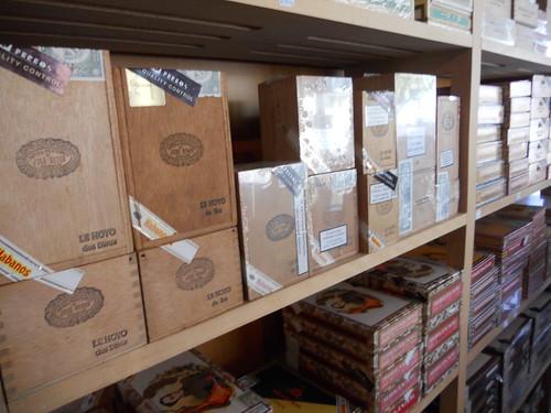 Hoyo De Monterrey and Bolivar Boxes