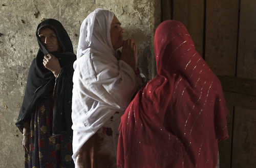 Women in Bagram, Afghanistan | by United Nations Photo