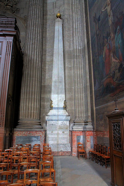 St Sulpice Rose Line