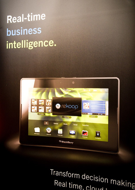 BlackBerry PlayBook preview at LSN's March 2011 London Networking Event»
