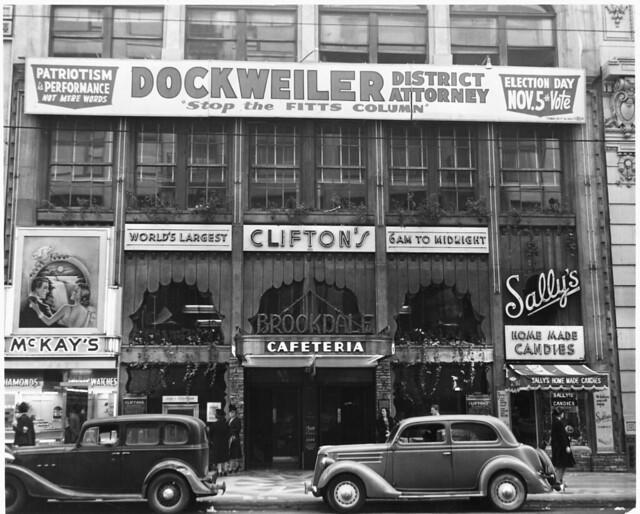 Clifton's Cafeteria, 1940