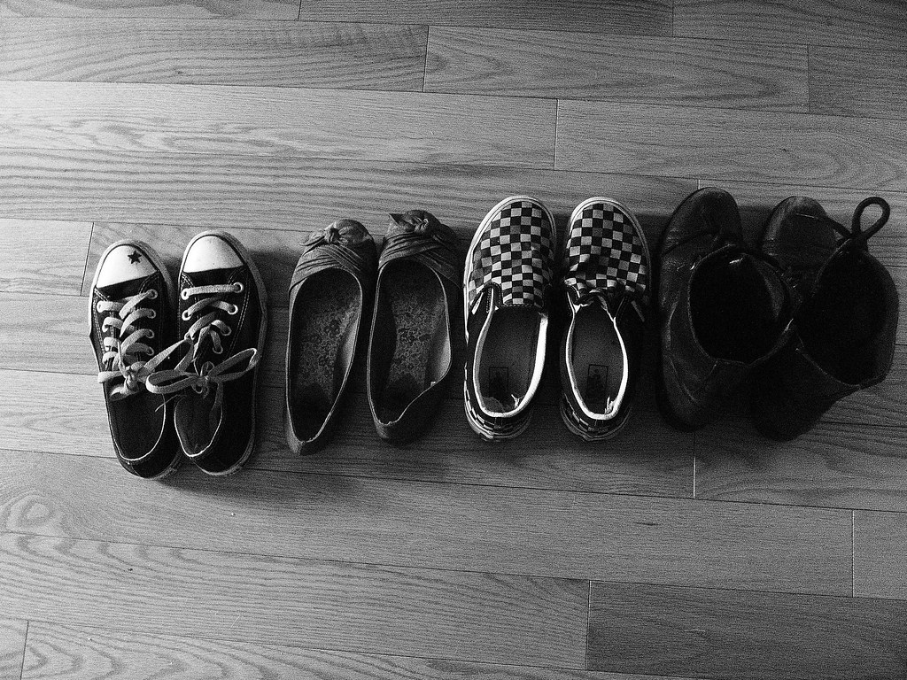 Row of Shoes | erules123 | Flickr