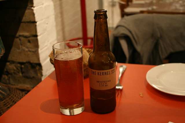 The Kernel Brewery's IPA at Brawn in London