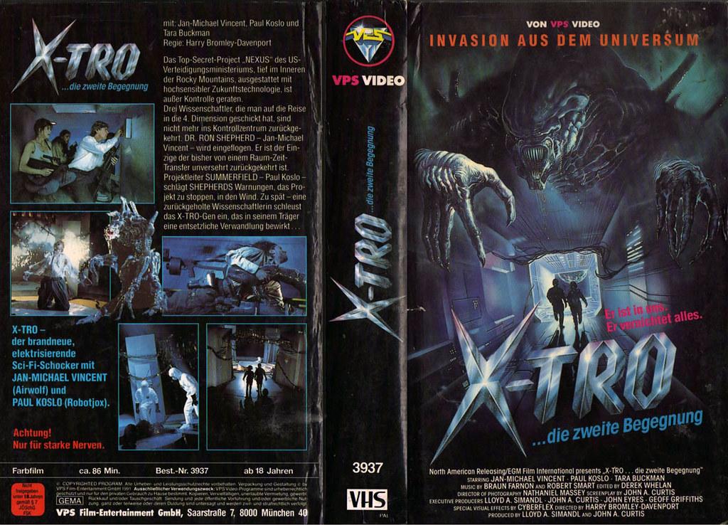 X-Tro 3 (VHS Box Art)   monsterbrains blogspot com/2011_01_3