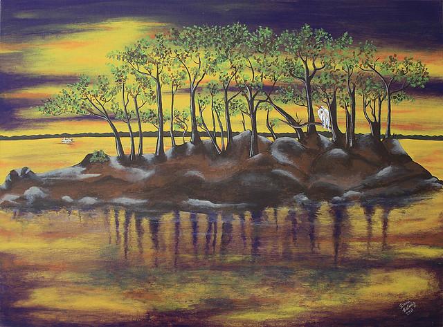 My latest painting- Acrylic on canvas