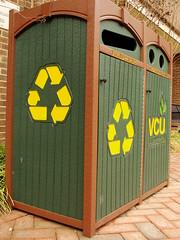 VCU Recycling Bin