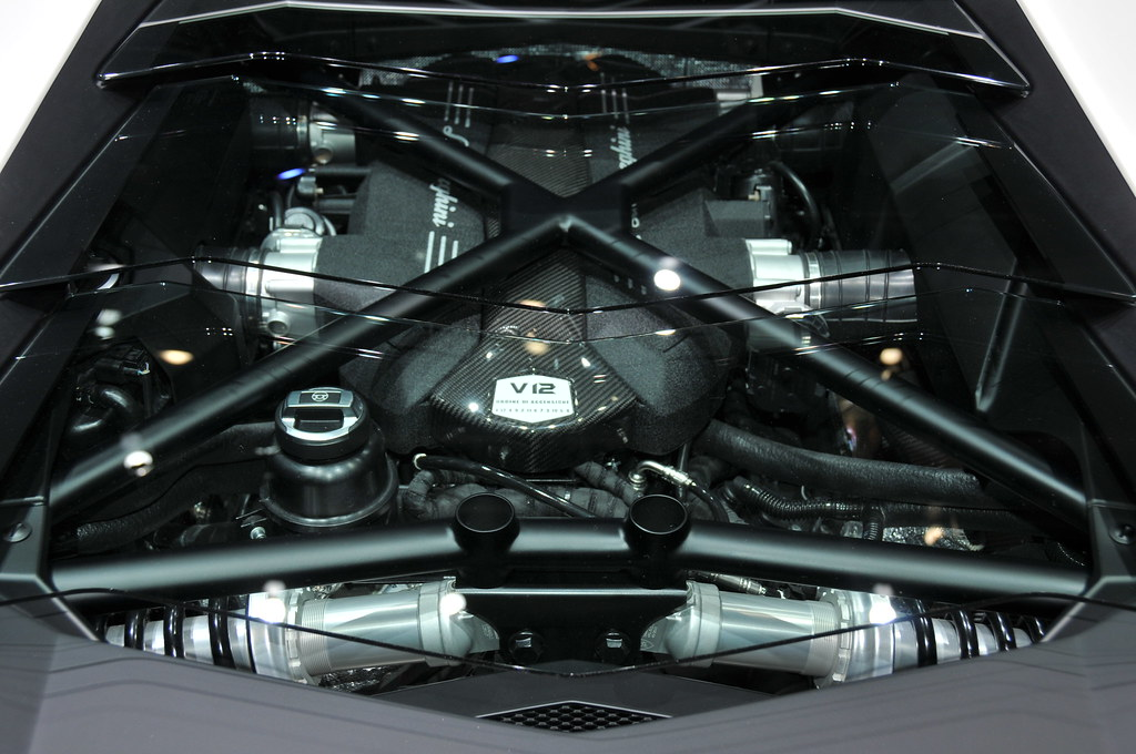 Lamborghini V12 engine | Autoviva | Flickr