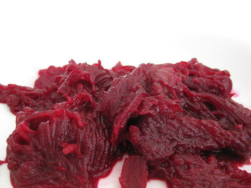 cooked grated beetroot | by MakeBreadAU