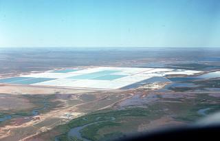 Salt Evapourators, Port Hedland -1979
