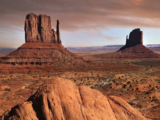 The famous mesas of Monument Valley, Utah. | by 78eef409a9968e851e6e51ed337452fa