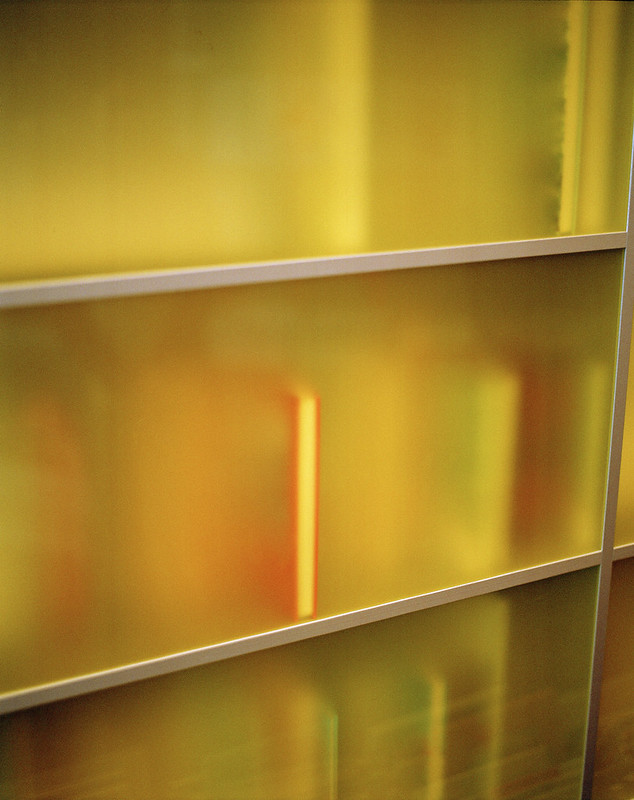 Sfeerbeeld bib - geel