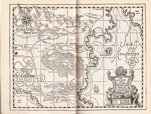 Map from The Phantom Tollbooth | by Calsidyrose