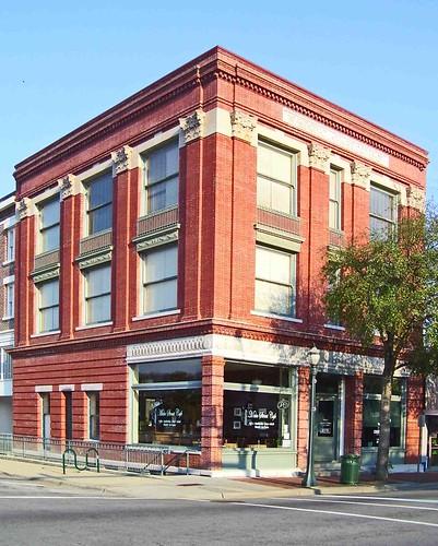 Downtown S Foreman Clark Building To Become 124: Henry Clark Bridgers Building, Ca. 1907: Downtown Tarboro