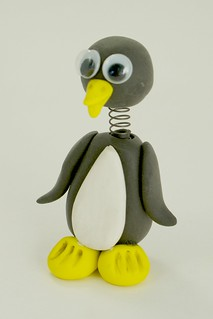 Penguin Bobble Buddy | by CraftyGoat