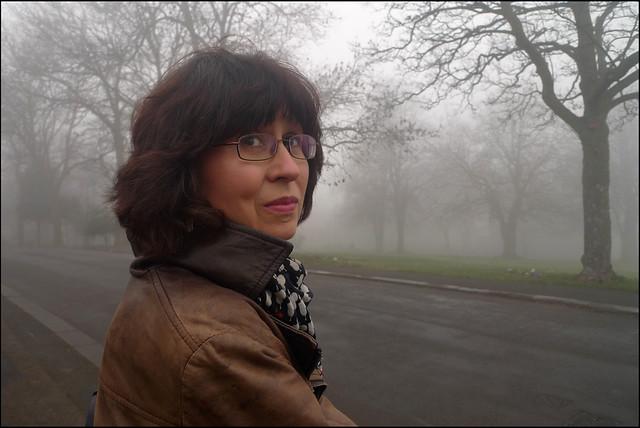 Sara in the mist