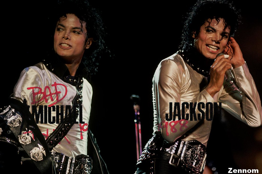 Michael Jackson Bad Tour 1988