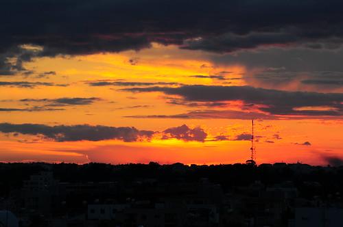 sunset cyprus myoffice strovolos nikond300 varnavasthearchitect