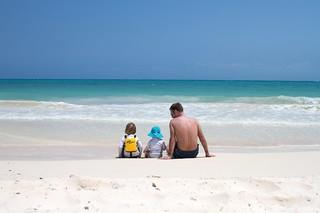 Enjoying the beach | by megnut