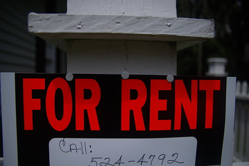 For rent sign | by Charleston's TheDigitel