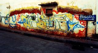 Graffiti in Vientiene | by trippinlarry