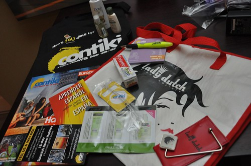 Contiki swag bag | by Janis Behan
