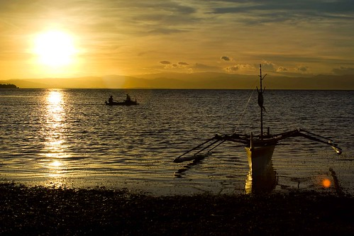 sea sky sun beach water clouds sunrise boat sand philippines canoe mateo pilipinas pangasinan banca outrigger dasol thehousekeeper georgemateo