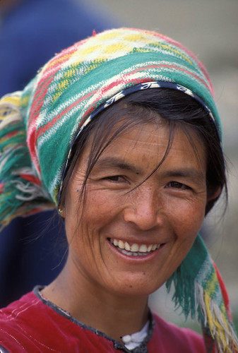 Woman smiling China   by World Bank Photo Collection