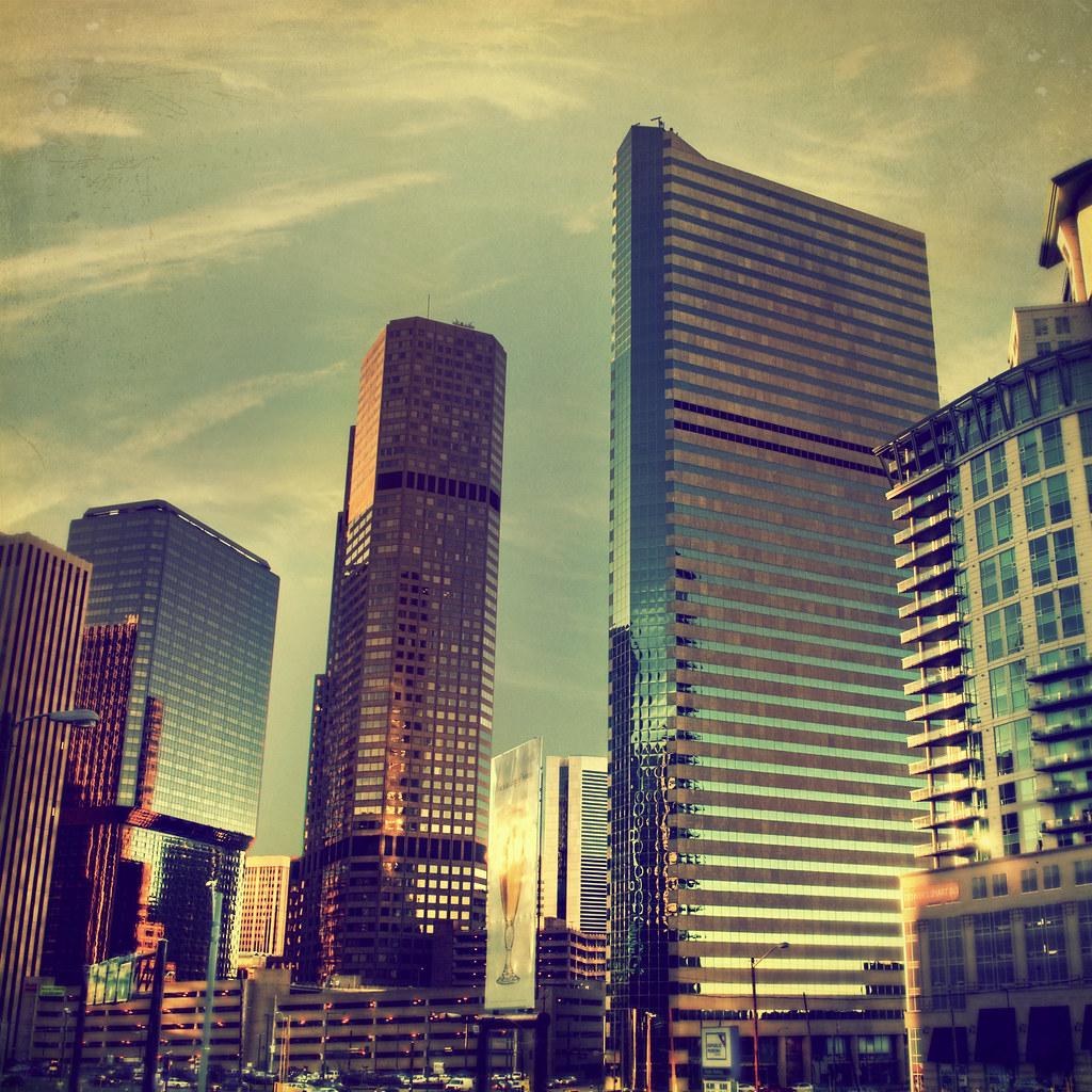 """Downtown Denver Golden Hour"""