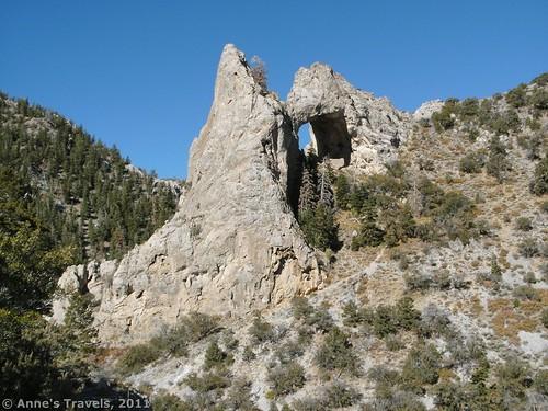 Lexington Arch in Great Basin National Park, Nevada