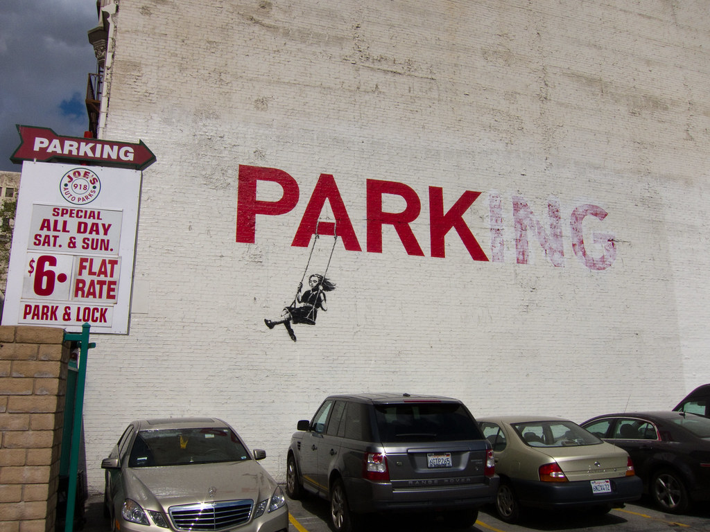 Banksy - Los Angeles - USA -1661 | nl wikipedia org/wiki/Ban