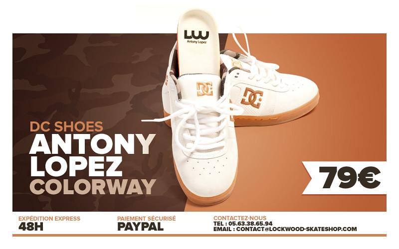 lockwood skateshop Albi banner shoes antony lopez by Cyril