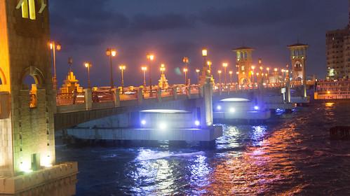 Alexandria's Stanley bridge   by Kodak Agfa