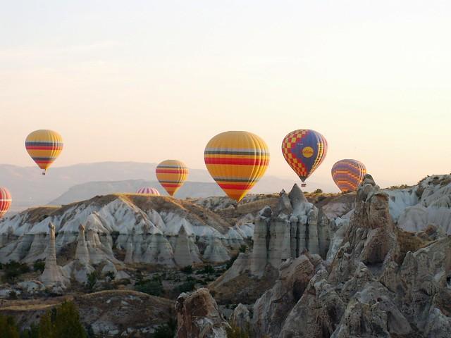 A walk in the skies of Cappadocia XXXII