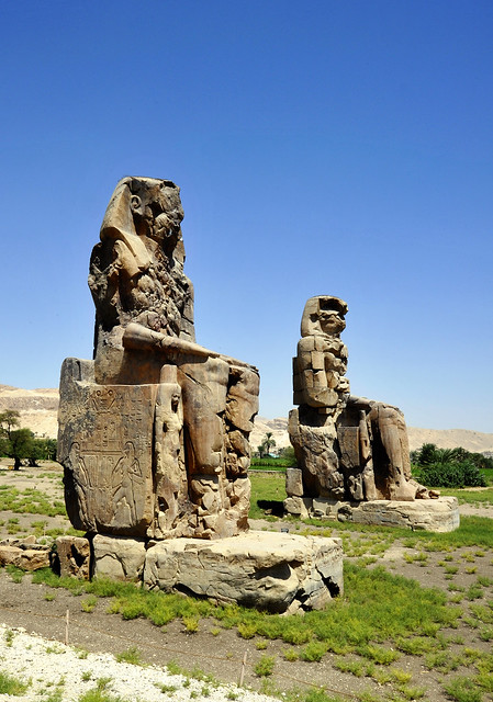 Memnon-Kolosse in Luxor