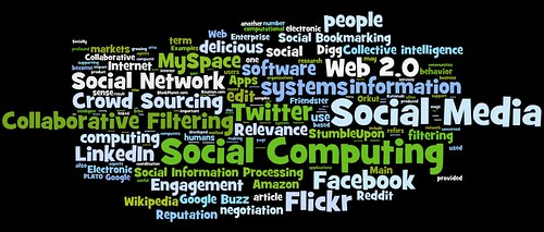 social media, social networking, social computing tag cloud (#2) | by daniel_iversen