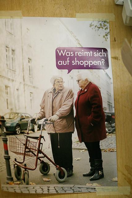 was reimt sich auf shoppen?