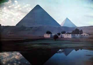 Pyramid Reflections