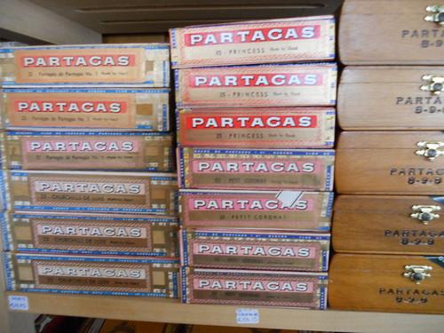 Partagas 8-9-8, Princes, Petit Coronas and Churchills De Luxe