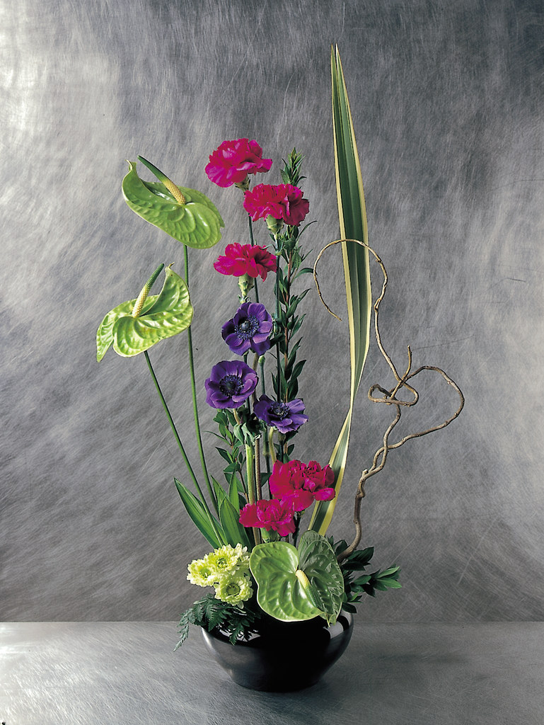. High style Contemporary Flower Arrangement   The artistic  s    Flickr