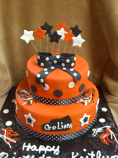 Prime Cheerleading Birthday Cake Sabtabulous Cakes Flickr Funny Birthday Cards Online Fluifree Goldxyz
