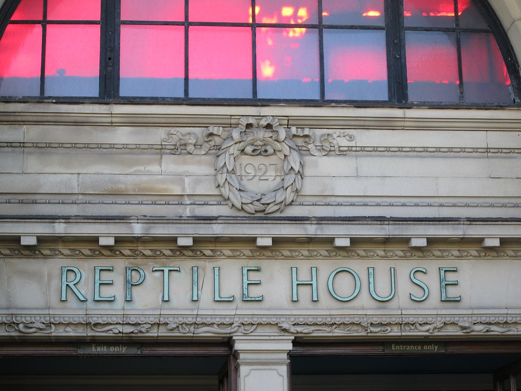 Reptile House at London Zoo