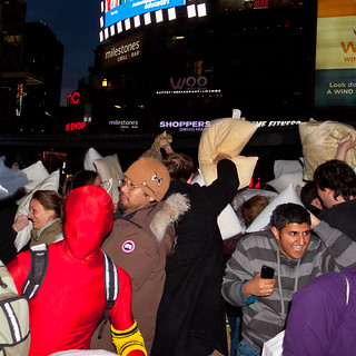 Pillow Fight Toronto 2011   by thelearningcurvedotca