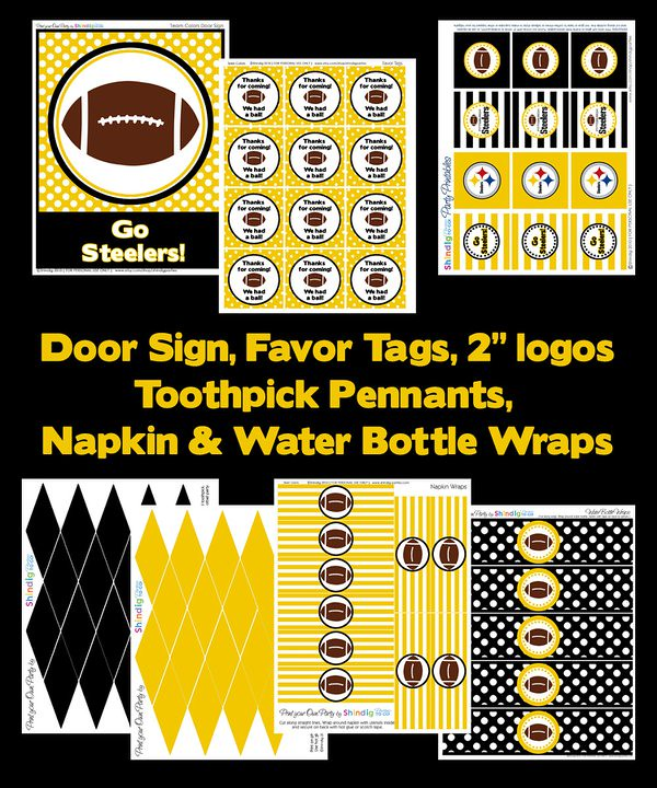 photograph relating to Steelers Printable Schedule named steelers printable-shindigpartiestogo Steelers Soccer Pr