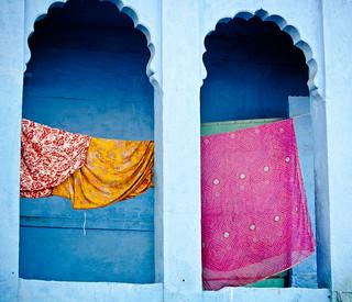 Clothesline Jodhpur   by Sundari Swami