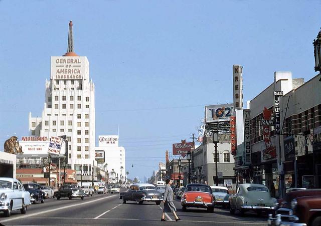L.A. - Wilshire 1954