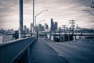 Seattle downtown from the overpass | by mfeingol